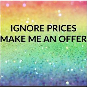 JUST MAKE ME AN OFFER — I'LL PROBABLY ACCEPT!